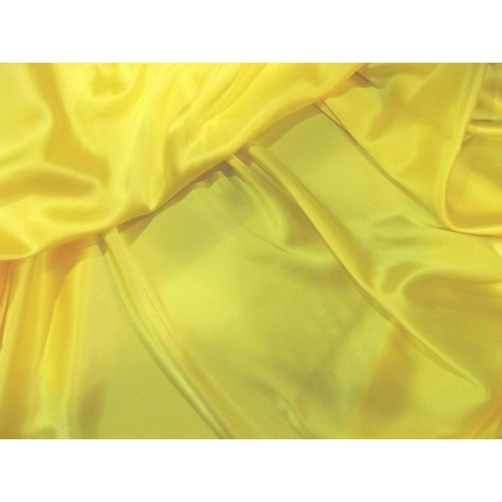 Классический желтый  - атласный шелк с эластаном