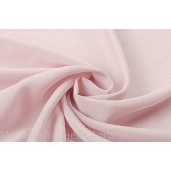 Шелковый крепдешин бледного розового цвета