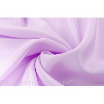Крепдешин шелковый цвета лаванда