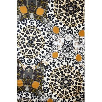 Крепдешин цветной - картинка под Леопарда