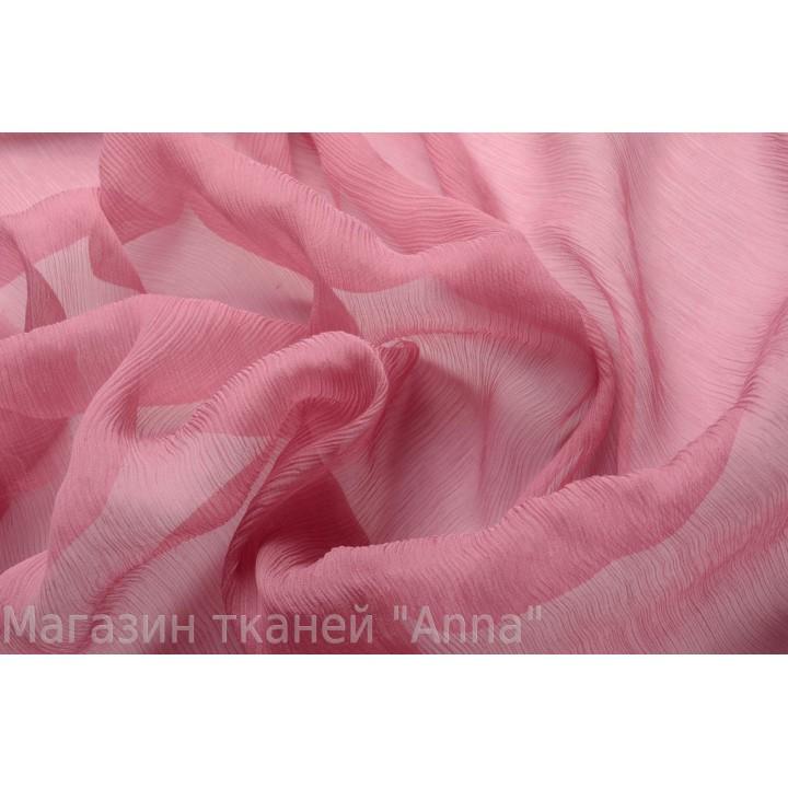 Шифон Лавандово-розового цвета