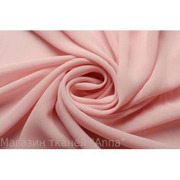 Светло розовый шифон с креповой текстурой
