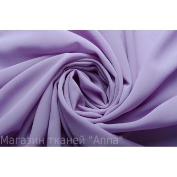 Шелковый креп шифон серо-фиолетового цвета