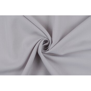 Габардин светло-серого оттенка для платья или костюма