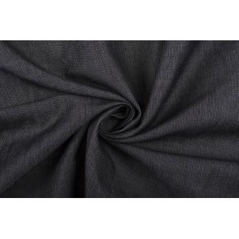 Плательная вискоза рябого серого цвета