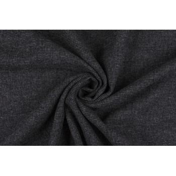 Серая теплая ткань из 100% шерсти для костюма или юбки