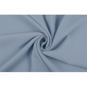 Креповая ткань небесного голубого оттенка