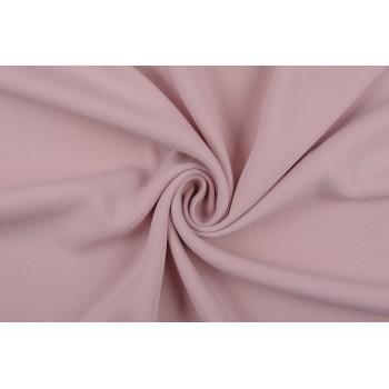 Костюмно плательная ткань с креповой текстурой, светло-розового оттенка