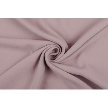 Пыльная роза - приятный оттенок в креповой ткани