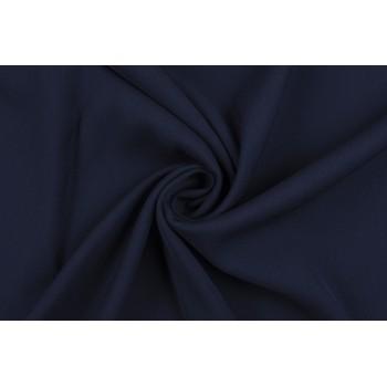 Темно-синяя смесовая костюмно-плательная шерсть Ricceri