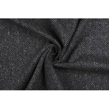 Плотный костюмный кашемир серого цвета