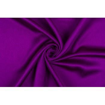 Плотный атласный Кади для платья или костюма в ярком цвете фуксия