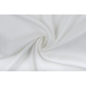 Белый костюмно-плательный штапель