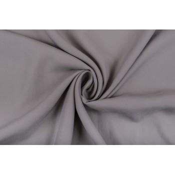 Теплый серый оттенок штапеля из 100% тенселя