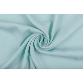 Плотный плательный штапель мятного цвета