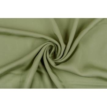 Гладкий тенсель оливкового цвета
