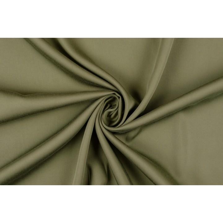 Штапель цвета Хаки для платья, комбинезона или костюма