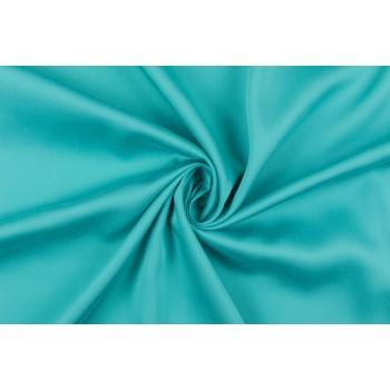Бирюзовый штапель - плотная и мягкая ткань для платья