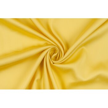 Штапель с тенселем солнечного желтого цвета