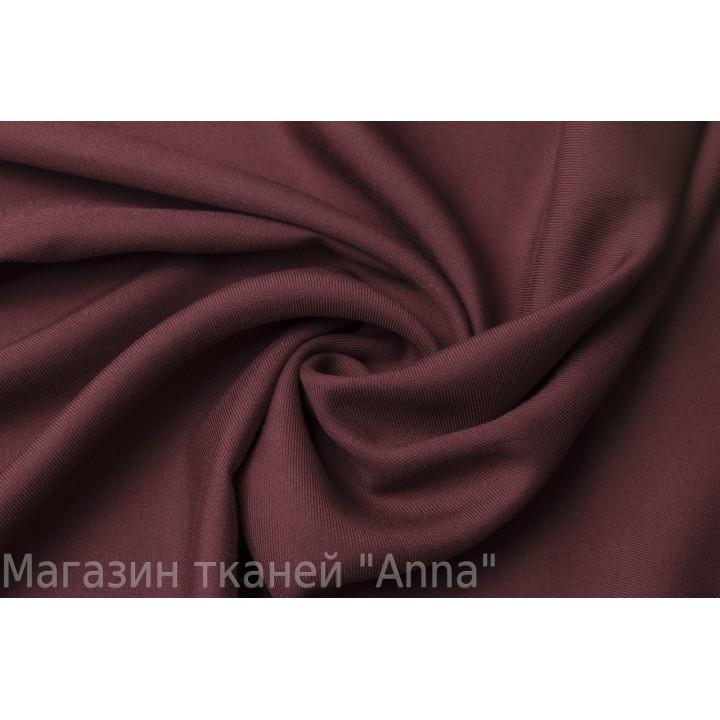 Легкий штапель цвета Марсала