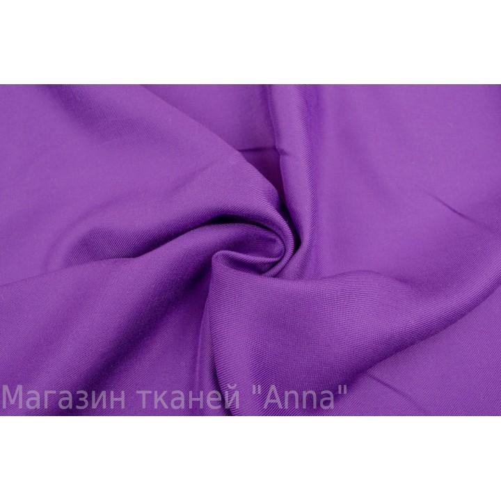 Штапель фиолетового цвета - для летней туники или костюма