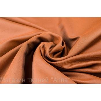 Тафта светло-коричневого оттенка из натурального шелка