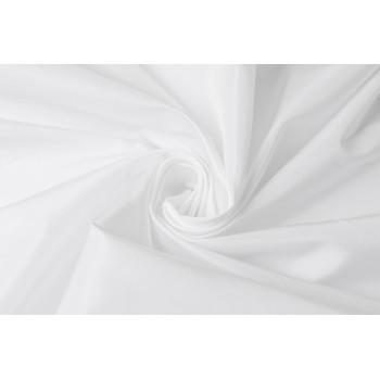 Белая тафта с легким блеском