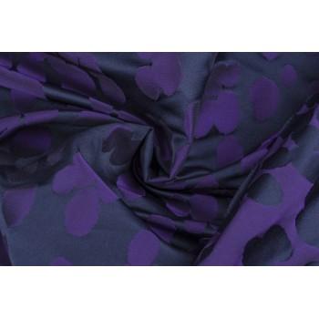 Плотная костюмно-плательная тафта с цветами