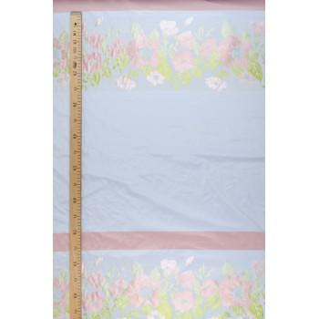 Тафта с нежным цветочным узором