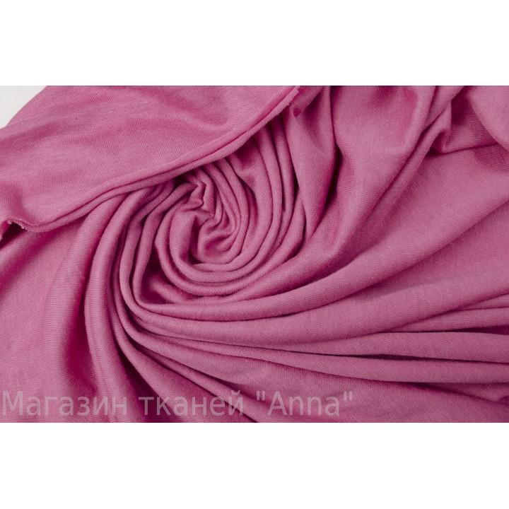 Мягкий двусторонний розовый трикотаж