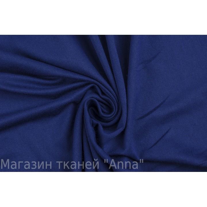 Трикотаж вискоза - темно-синий с мелкий рельефом