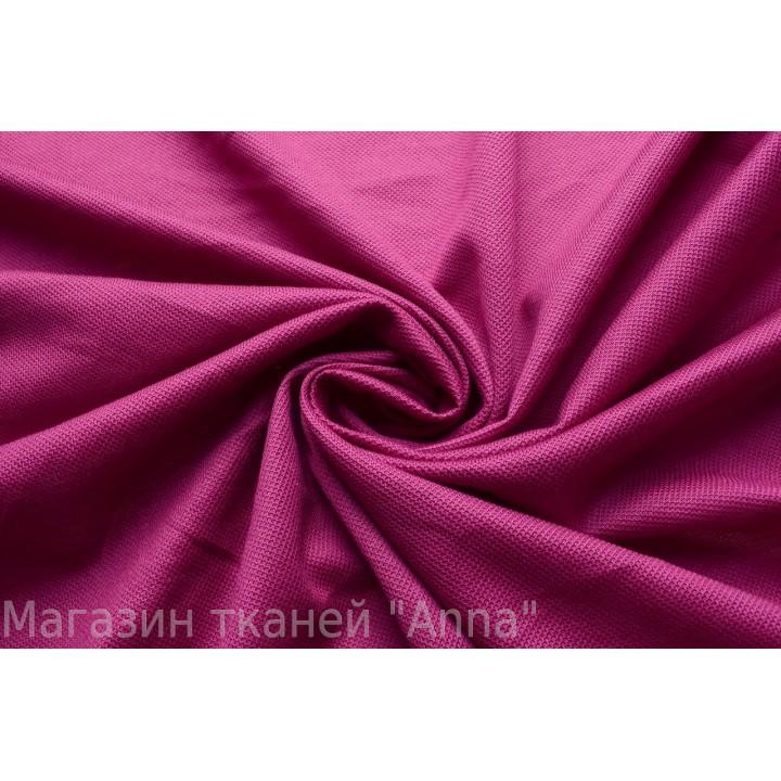 темно-розовый трикотаж с мелкой выделкой
