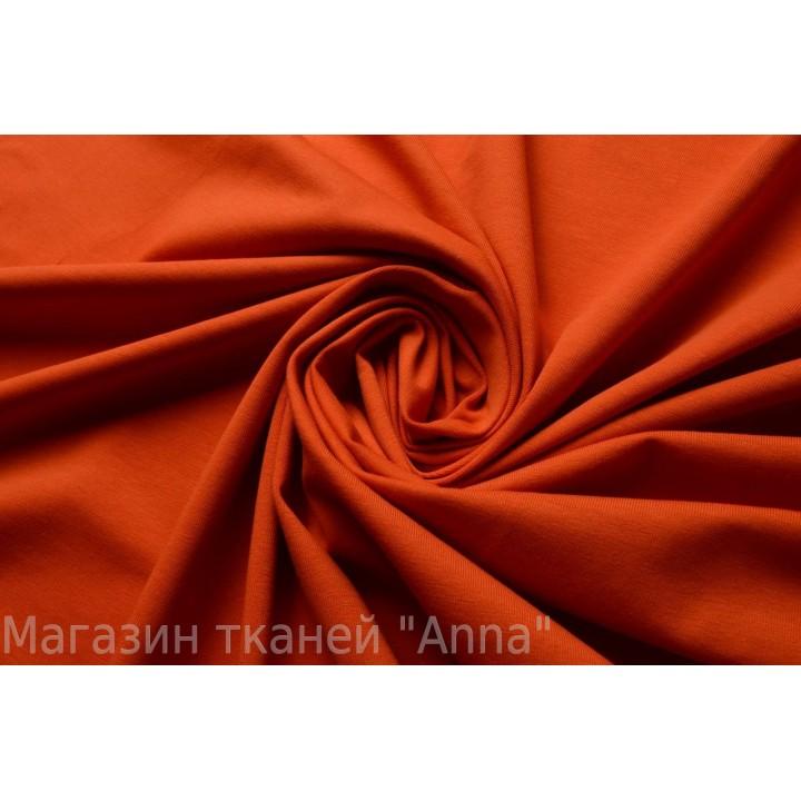 Майечный трикотаж кирпичного цвета