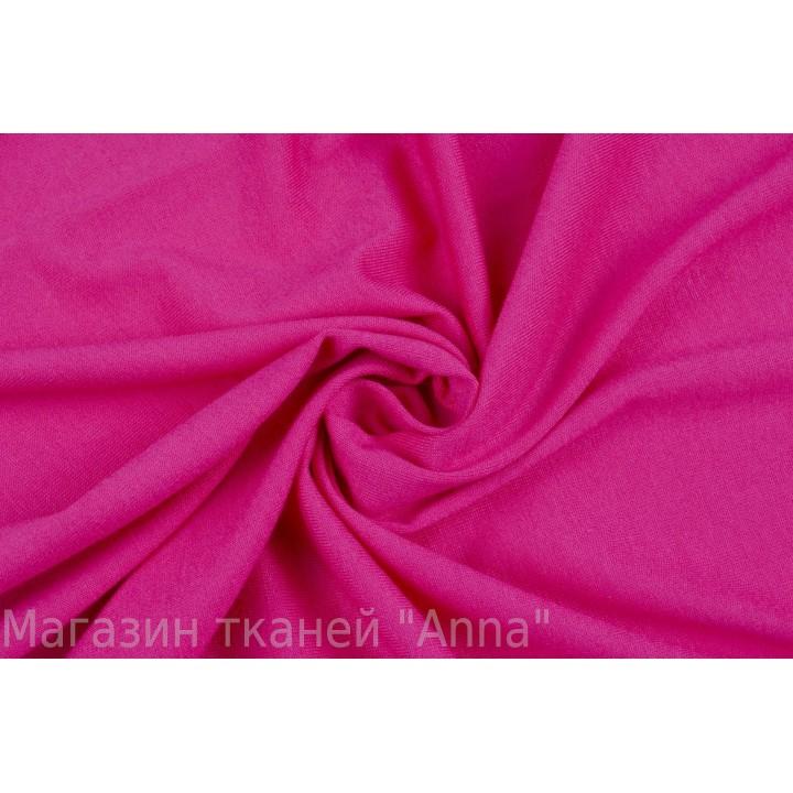 Трикотаж для маек и футболок в пурпурном цвете