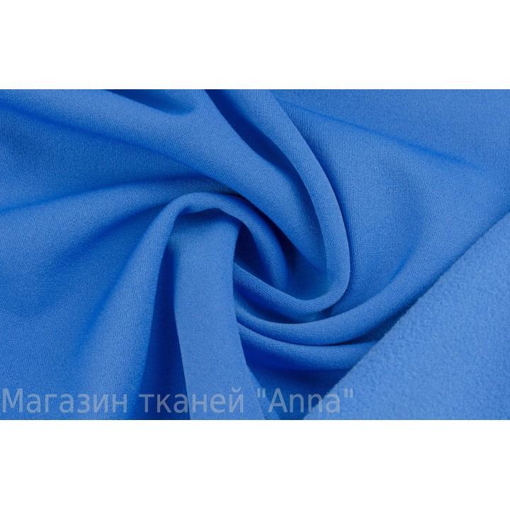 Ярко-синий трикотаж с начесом