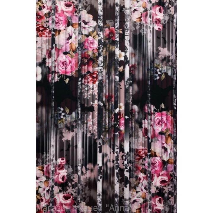 Плотный Джерси с цветами