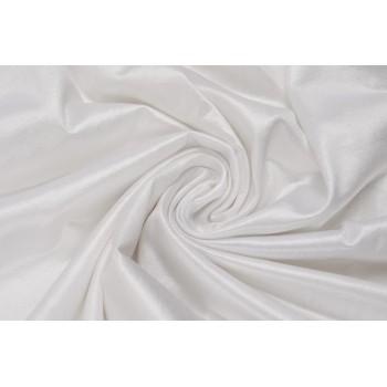 Белый трикотаж-масло белого цвета
