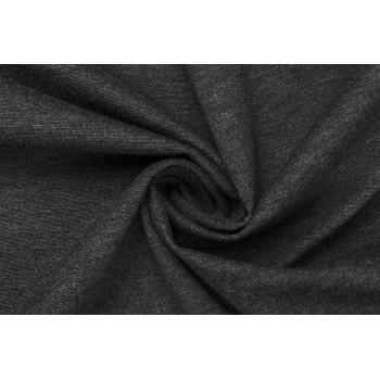 Мягкий темно-серый трикотаж Джерси для одежды