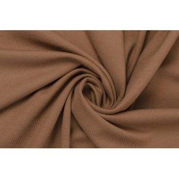 Светло-коричневый трикотаж джерси