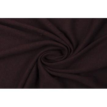 Темно-бордовый трикотаж - вязаный