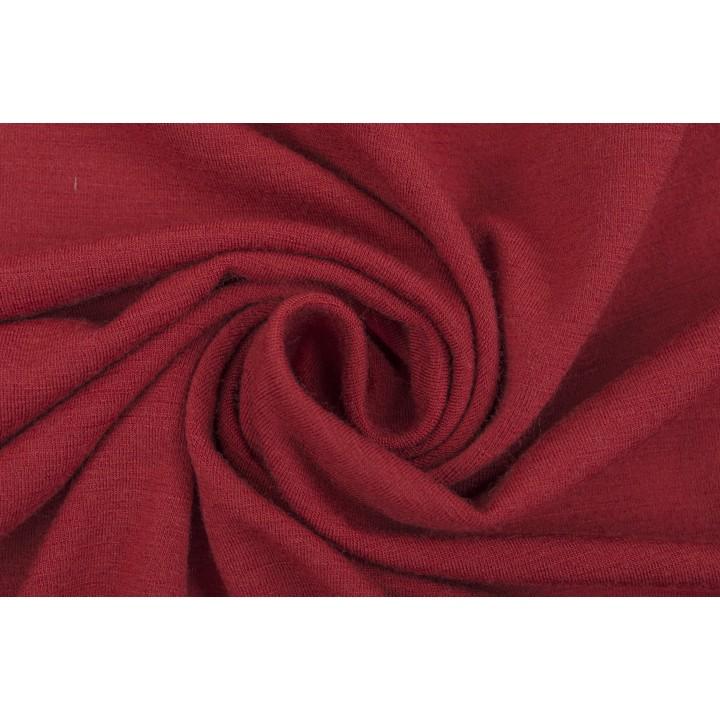 Красный трикотаж с шерстью