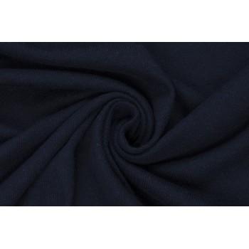 Мягкий темно-синий трикотаж