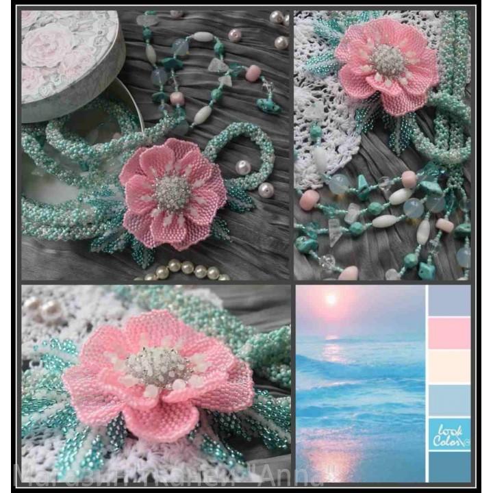 Жгут-петля розовый Мак